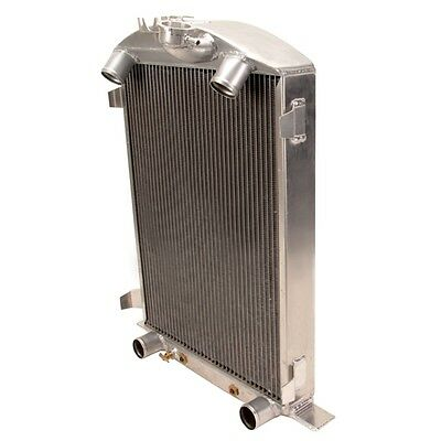 New Griffin 7-70083 Deluxe Aluminum Radiator for 1932 Ford Chassis w/ Flathead