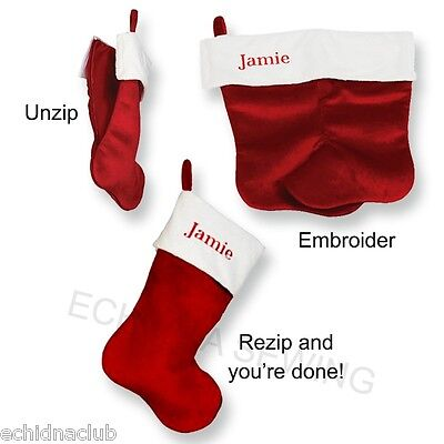 Embroider Buddy ~ Christmas Stocking