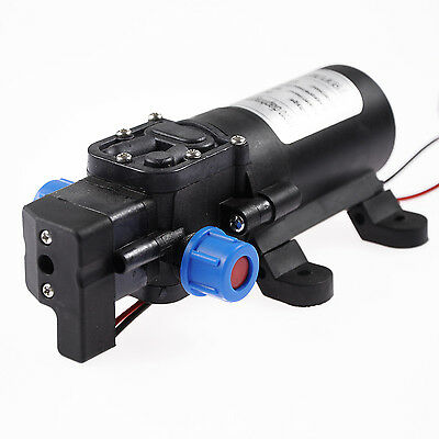 12V 5.5L/min 80PSI Diaphragm Automatic Switch Water Pump Reflux for Car Boats/RV