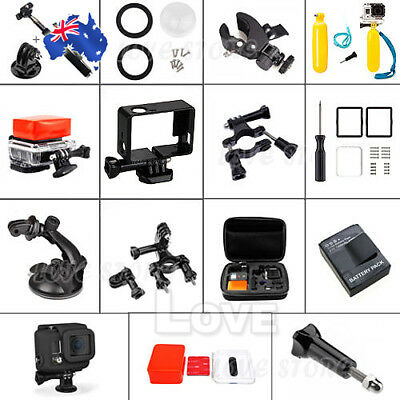 OZ D Pack Storage Case Head Chest Mount Accessories for GoPro HD Hero 3 3+ 2 1