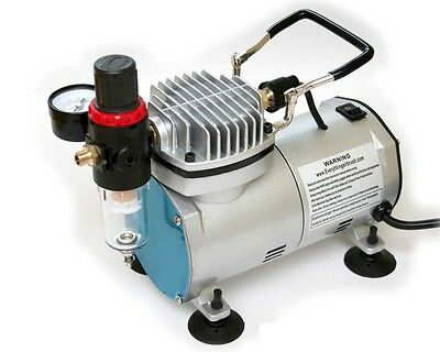 High Quality Oil-Less Mini Piston Type Airbrush Air Compressor