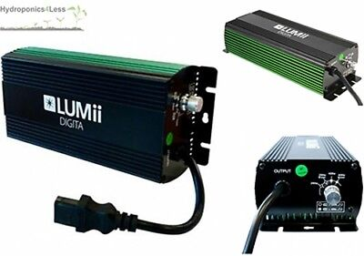 Lumii 250 400 600 1000W Electric Digital Dimmable Ballast Grow Light Hydroponics