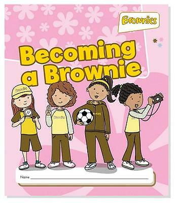 Brownie Becoming A Brownie Book Official Girlguiding New