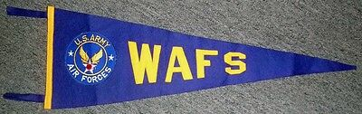 Extremely Rare Early WWII USAAF Women's Auxiliary Flying Squadron (WAFS) Pennant
