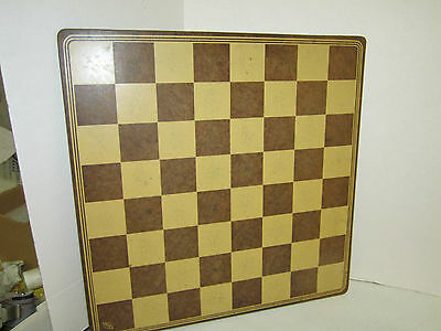 VINTAGE LOWE BACKGAMMON ACE DUCEY/ CHESS GAME BOARD ONLY WOOD