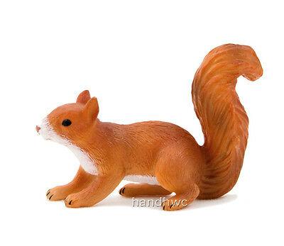 Mojo Fun 387032 Squirrel Running - Realistic Forest Countryside Toy Replica -NIP