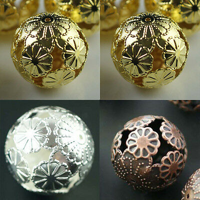20pcs Wholesale Silver/Gold/Copper Spacer Loose Beads Jewelry Findings 20mm