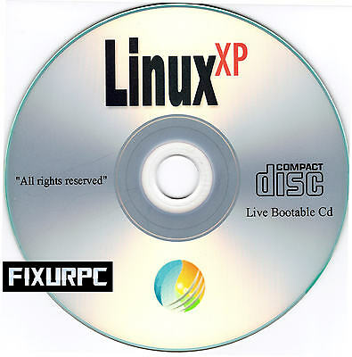 "Linux XP, Replace Windows XP, Software,""Start Button included"