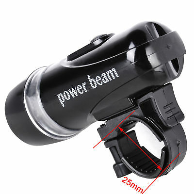 5 LED Cycle Bike Bicycle Cycling Head Light Front + Rear Flashlight Torch SET AU