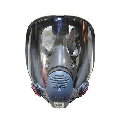 For 3M 6800 Gas Mask Full Face Facepiece Respirator Painting Spraying New