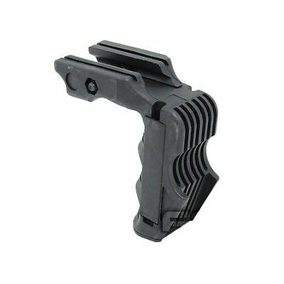 Airsoft Rail Mounted Vertical Foregrip Magwell Pressure Pad Ready Black Swat Uk