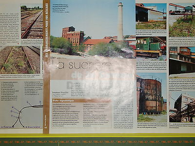 Article de PRESSE - Décor Industriel - Sucrière de la Somme - 5 pages -