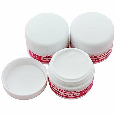 BF 3pcs Clear Acrylic Powder Manicure For Nail Art Tips #152