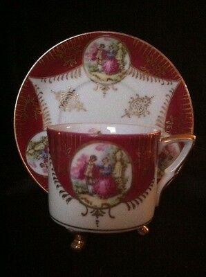 Vintage Royal Sealy China Tea Cup And Saucer Japan
