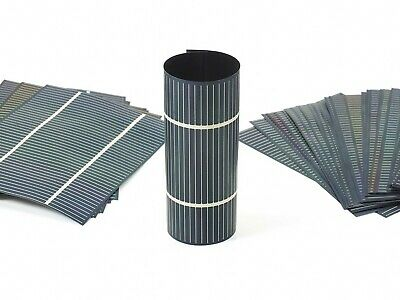 Solopower SP3  1.25 Watt Lightweight Thin Flexible CIGS Solar Cell Lot of 100