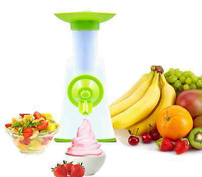 Electric Grater & Shredder and Frozen Fruit Ice Cream Maker 2 in 1