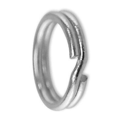 New Charm Links Sterling Silver Split Ring Pack Of 100
