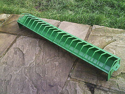 EXTRA LARGE TROUGH FEEDER 100cm CHICKEN QUAIL POULTRY