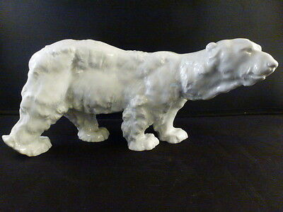 Beautiful Meissen Otto Jarl - POLAR BEAR