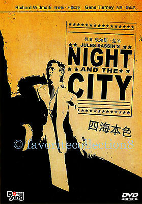 Night and the City (1950) - Richard Widmark, Gene Tierney - DVD NEW