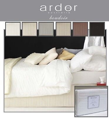 Ardor Australia Boudoir Premium Quilted Valance 6 Colours 5 Sizes Free Shipping!
