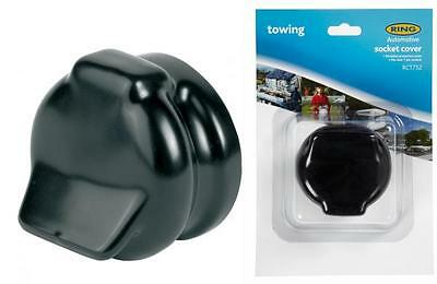 7 Pin Socket Cover PVC Protective Cap Trailer Caravan Towing 12n 12s Ring RCT752