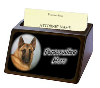 Belgian Malinois    Pet Breed  Personalized Business Card Holder