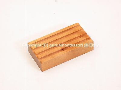 NEW Montessori Language Material - Wooden Pencil Holder for 4 Pencils (Set of 2)