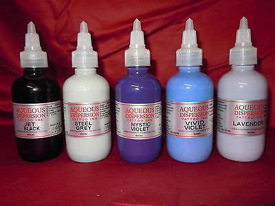 TATTOO INK  BLACK / GREY / VIOLET / PURPLE / LILAC Inspire Uk