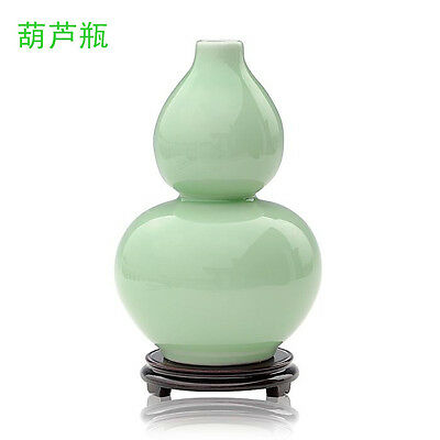Perfect porcelain vase gourd bottle free shipping cost from China very beautiful
