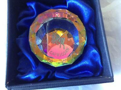 Crystal  Horoscope Paperweight