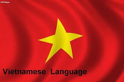 Learn  VIETNAMESE  - 100 Lessons Audio Book MP3 CD - iPod Friendly