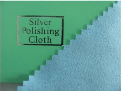 Silver Polishing Cloth for Sterling Silver Jewellery (FSJA152A)