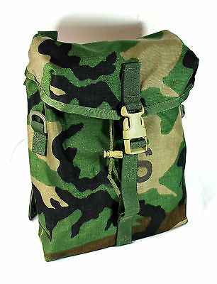 *NEW* Genuine US Military Molle II Sustainment Pouches Woodland Camo