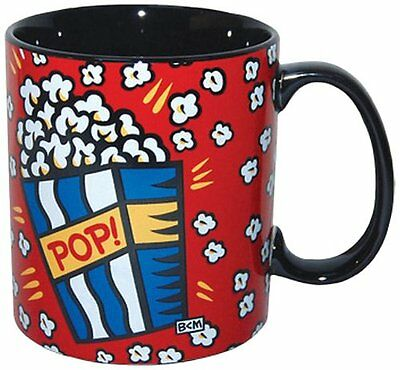 "BURTON MORRIS ""POP CORN"" DESIGN COFFEE MUG, 14 Oz"
