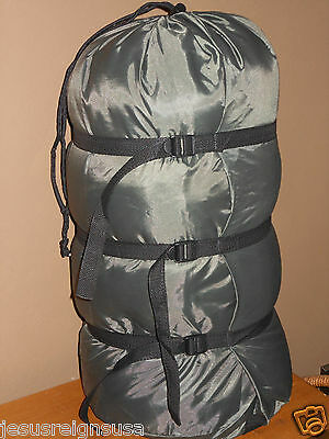 COMPRESSION STUFF SACK Sleeping Bag Camping Lightweight Outdoor Hiking TRAVEL