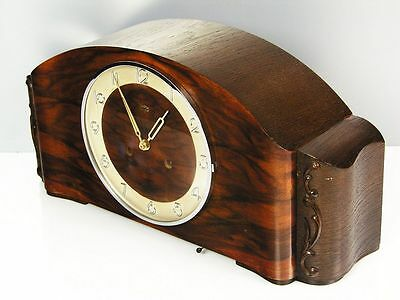 Beautiful  Art Deco  Kienzle Chiming Mantel Clock