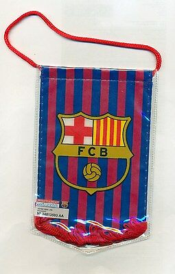 Official Football Club Pennant   Barcelona   FREE (UK) P+P
