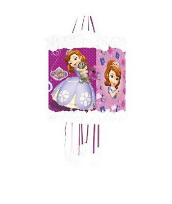 Disney Sofia the First Princess Birthday Party Pinata Pull String with mask