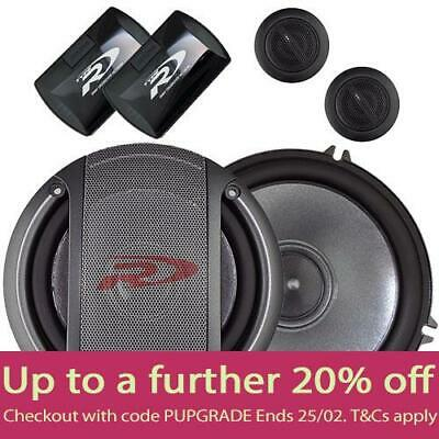 """Alpine SPR-17S 6.5"""" Component Speakers with LOCAL AUST WARRANTY"""