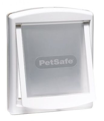 Staywell Petsafe 740 Medium Dog Pet Door Flap 2 Way Locking Cat White catflap