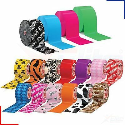 ROCKTAPE Kinesiology Tape 5cm x 5m - Football Cycling Tennis CrossFit MMA Physio