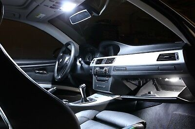 BMW X1 E84 LED Xenon White Interior Lights Bulbs Kit