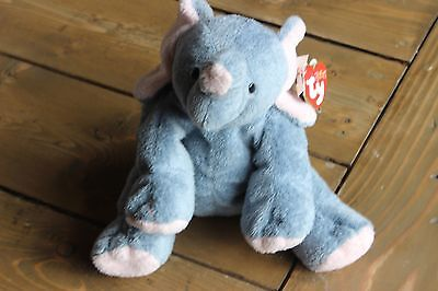 TY Beanie Babies Baby Pluffies WINKS 2002
