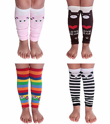4 Pairs-Baby Arm Leg Warmers Toddler Boys Girls Children Socks Legging - NEW