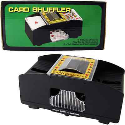 Quality Automatic Card Shuffler Sorter for 2 Decks Cards Shuffle Playing casino