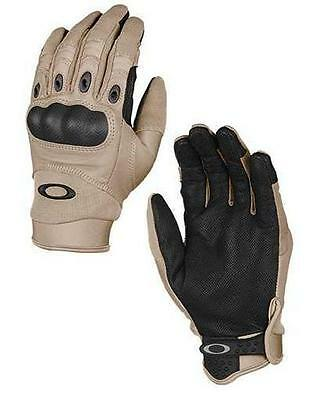 Oakley SI Assault Tactical Factory Pilot Glove New Khaki New Improved Style 2015