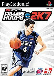 College Hoops 2K7  (Sony PlayStation 2, 2006) With Manual