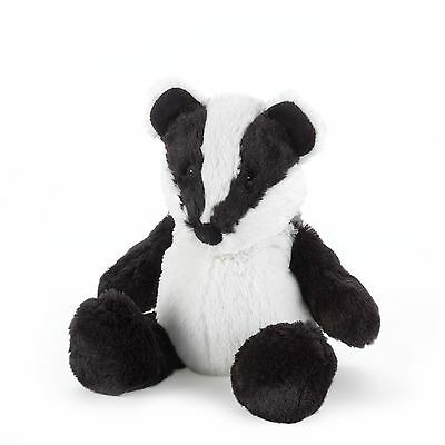 Intelex Cozy Plush Badger - Microwave Soft Toy Microwavable Heated Wheat Bag