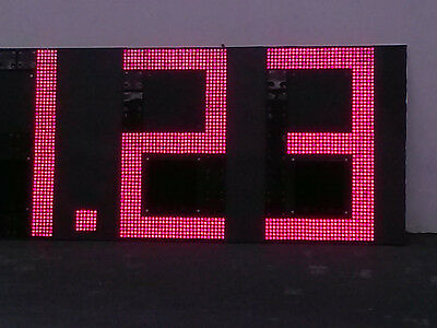 """Digital Gas price LED sign changer, 48"""" - Made in USA -"""